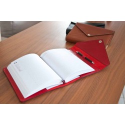 "Leather Calendar ""Class"" serie (RED)"