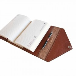 "Leather Calendar ""Class"" serie (BROWN)"