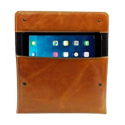 Custodia per iPad in pelle
