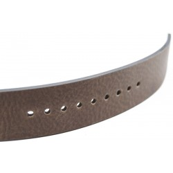 One More leather belt cm 4