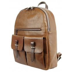 Professional leather backpack 521