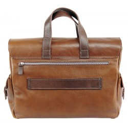 Leather briefcase 646