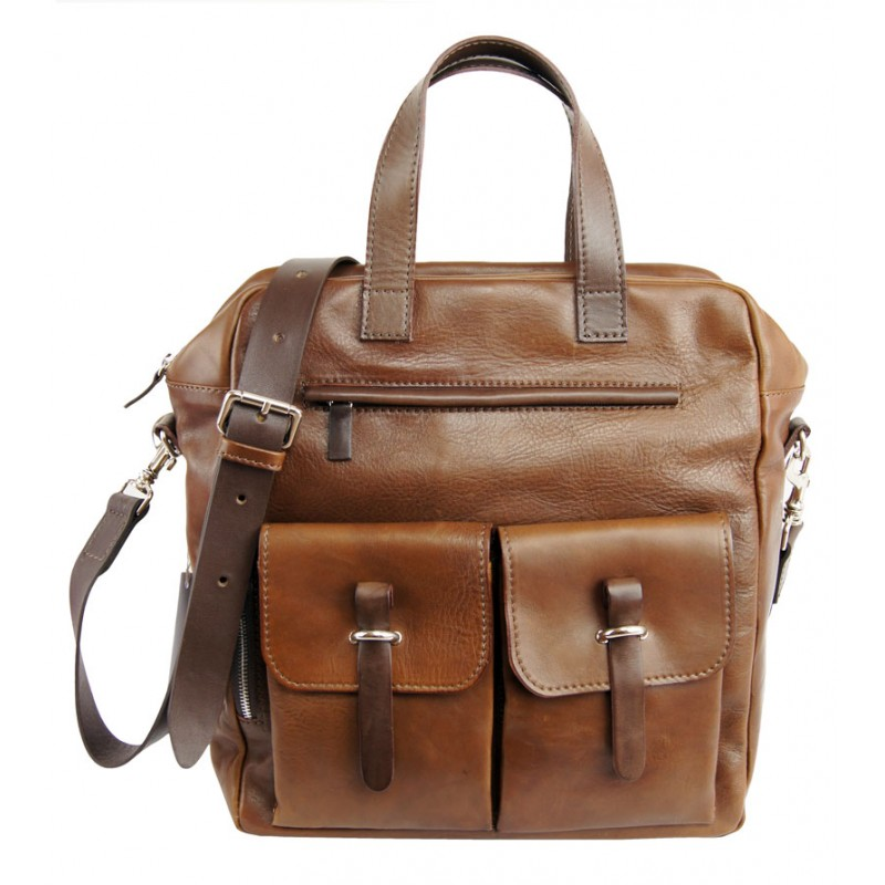 Leather briefcase 647