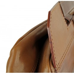 Leather professional backpack 648