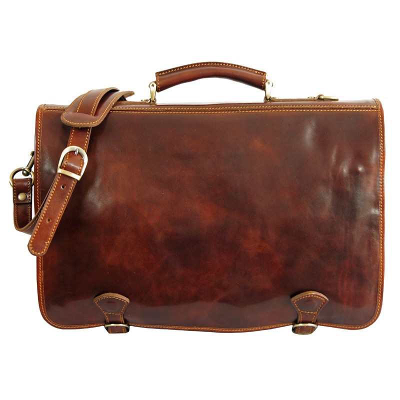 6e421608e Professional bag in real leather. Large bag with a classic design ...