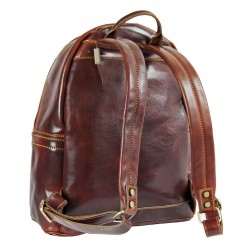 Leather professional backpack