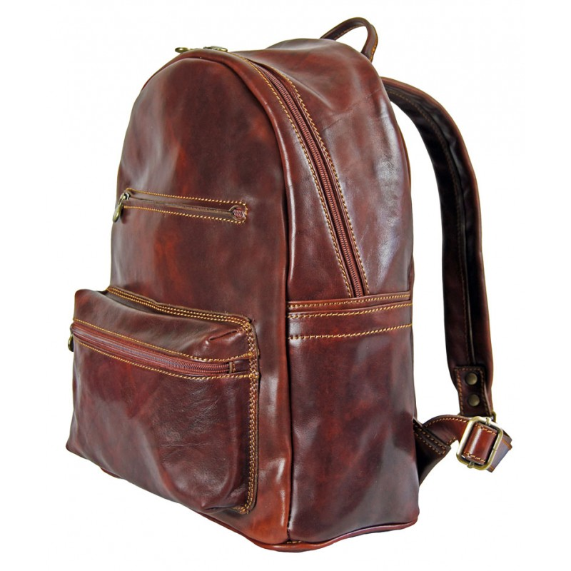f574b6277069 Comfortable business backpack in leather