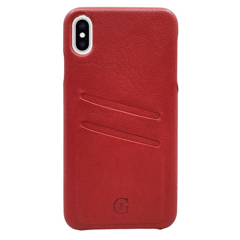 cover in pelle iphone xs max