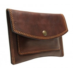 Tobacco holder with snap button