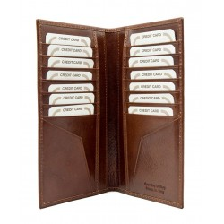 Credit card holder in genuine leather 705