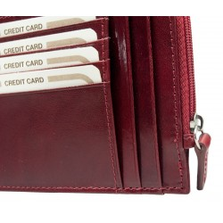 Credit card holder with zip 8933