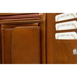 Woman wallet in genuine leather 8234