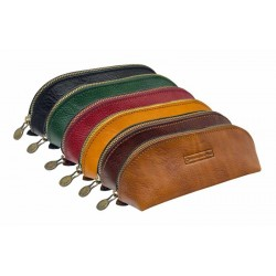 Leather pouch medium