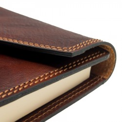2022 leather diary with clip