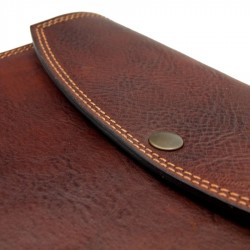 2021 leather diary with clip