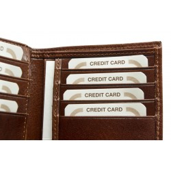 Genuine leather wallet 8795