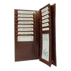 Credit card holder in genuine leather 3020