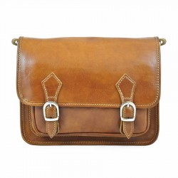 "Leather bag model ""Venice"""