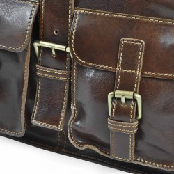 """Leather bag for lady mod. """"LOS ANGELES"""""""