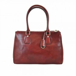 "Leather bag Women mod. ""AMALFI"""